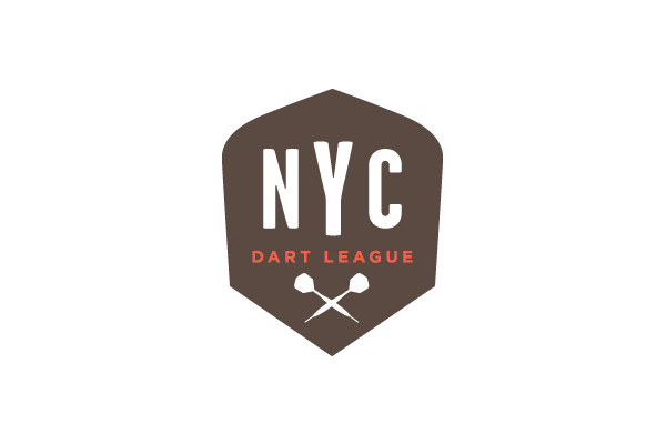 Logo Design by Wallace Design House for NYC Dart League