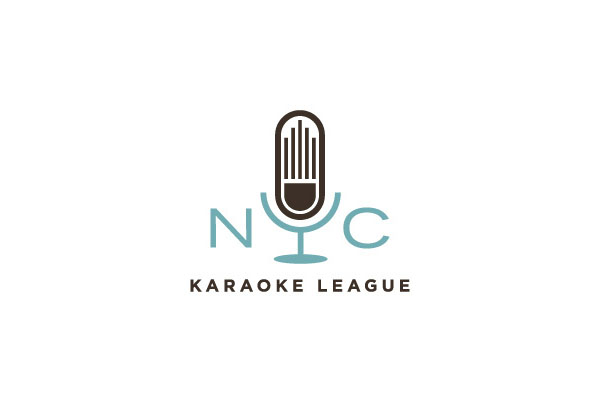 Logo Design by Wallace Design House for NYC Karaoke League