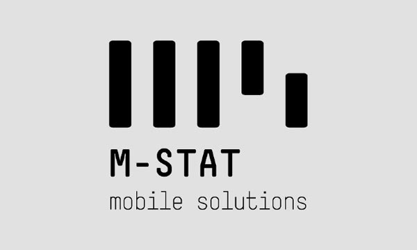 M-Stat Logo Design by Hellopanos and Dimitris Kourkoutis
