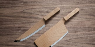 Maple Knive Set Product Design by The Federal