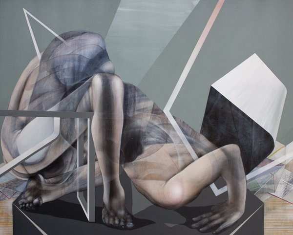 Mirror Me - Painting by John Reuss