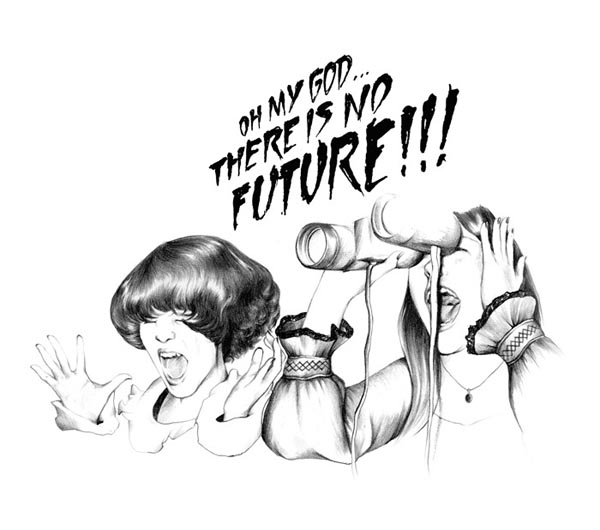 No Future Illustration by Charlotte Delarue for Surface to Air