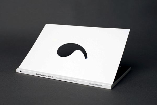 Orchestre des Pays de Savoie - Visual Communication by Catalogue Studio