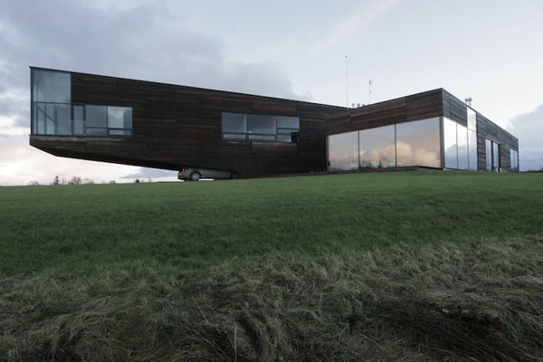 Outstanding Architecture of the Utriai Residence in Lithuania by Natkevicius & Partners
