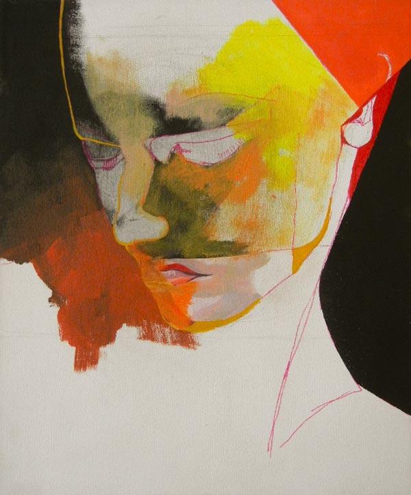 Painting by Beata Chrzanowska