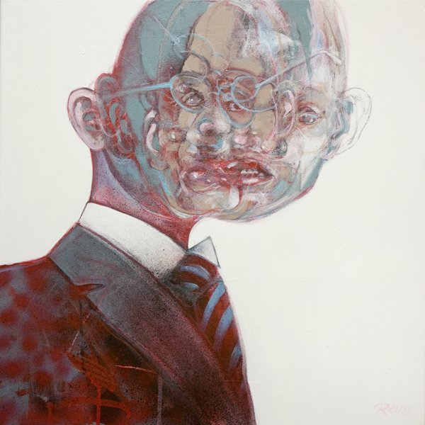 Painting by John Reuss