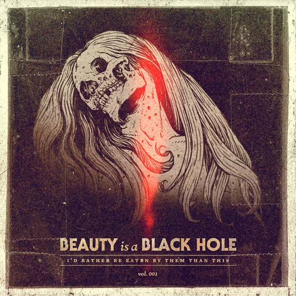 Parachute Journalists – Beauty is a Black Hole Cover Illustration by Jeff Finley