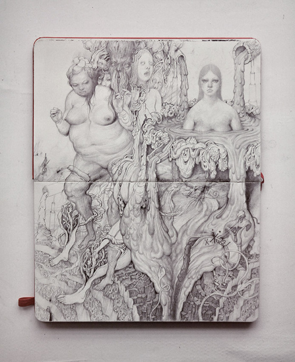 Pencil Sketches by Anton Vill