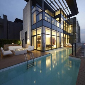 Penthouse Architecture: House of the Tree by Kokaistudios