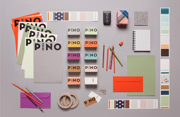 Pino Brand Design by Studio Bond