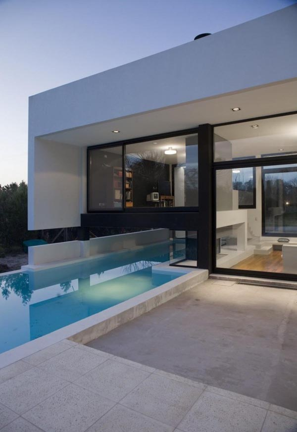 Pool of the Grand Bell House by Andres Remy Arquitectos