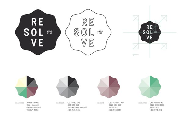 Resolve - Logo and Color Versions