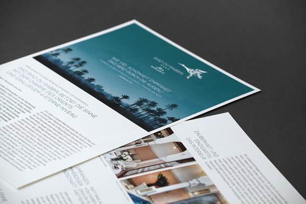 Riad du Rabbin - brand material designed by Büro für Linienführung