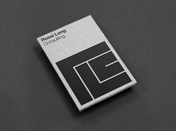 Rossi long consulting brand identity by matthew hancock for Brand consultant