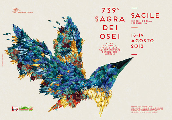 Sagra dei Osei - Poster Illustration and Design
