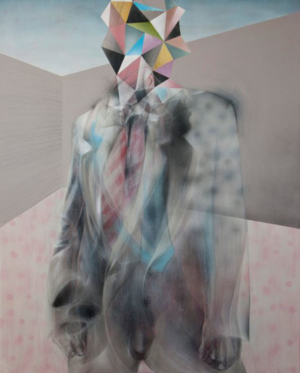 Self Control - Painting by John Reuss