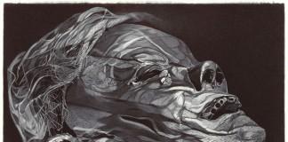 The Last Man 2010 Ballpoint Pen on Paper Artwork by Boo Saville