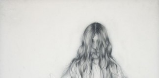 Wolf - Pathetic Fallacy Drawing by Anthony Goicolea