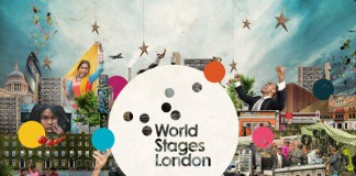 World Stages London Theater Event Branding and Marketing Collateral by IWANT design