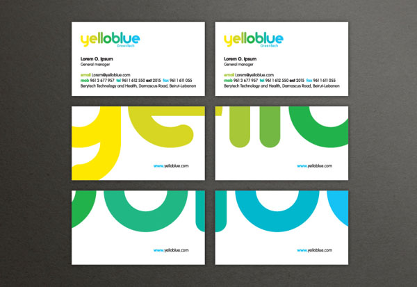 Yelloblue - Business Cards