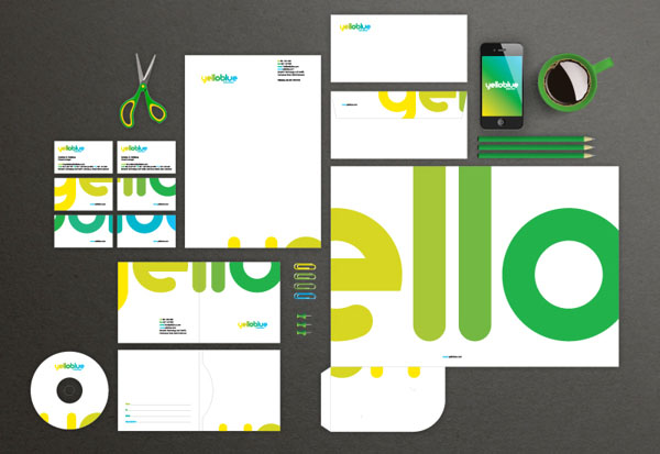 Yelloblue - Corporate Design