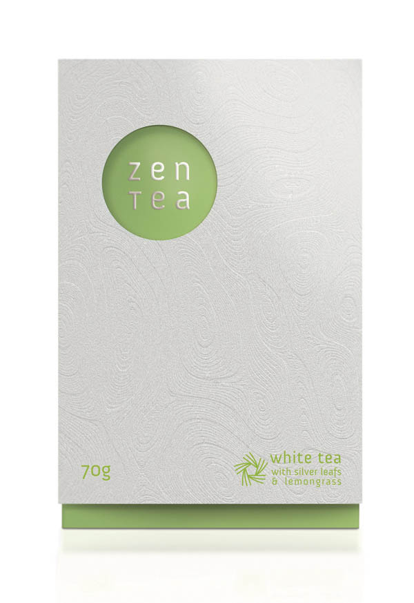 Zen Tea - packaging and branding concept by Konrad Sybilski