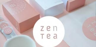 Zen Tea - packaging and branding concept by Konrad Sybilski