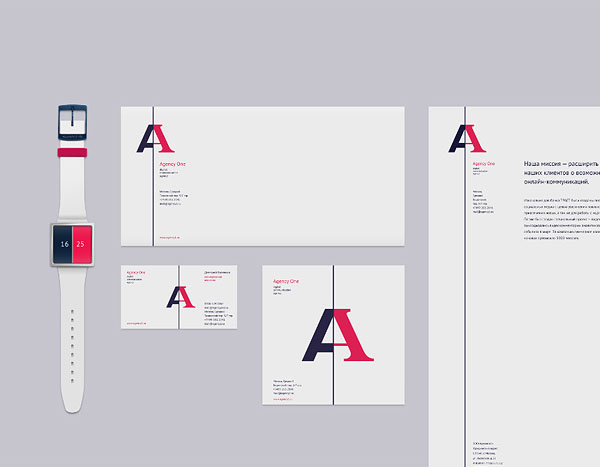 Agency One - corporate identity