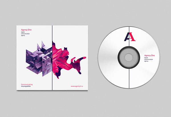 Agency One - cd and cover design