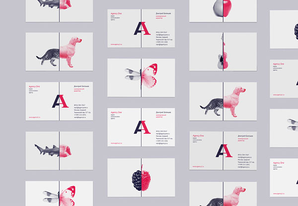 Agency One - visual identity
