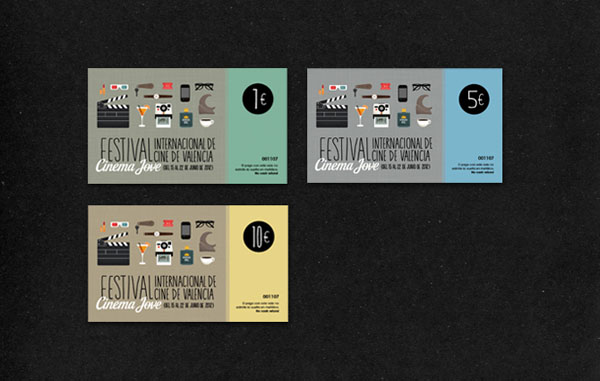 27th Cinema Jove Film Festival - Dines Design by Casmic Lab
