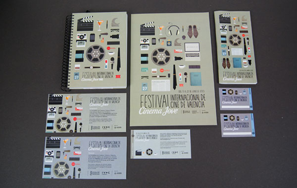 27th Cinema Jove Film Festival - Event Design by Casmic Lab