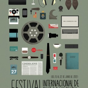 27th Cinema Jove Film Festival - Campaign Design by Casmic Lab