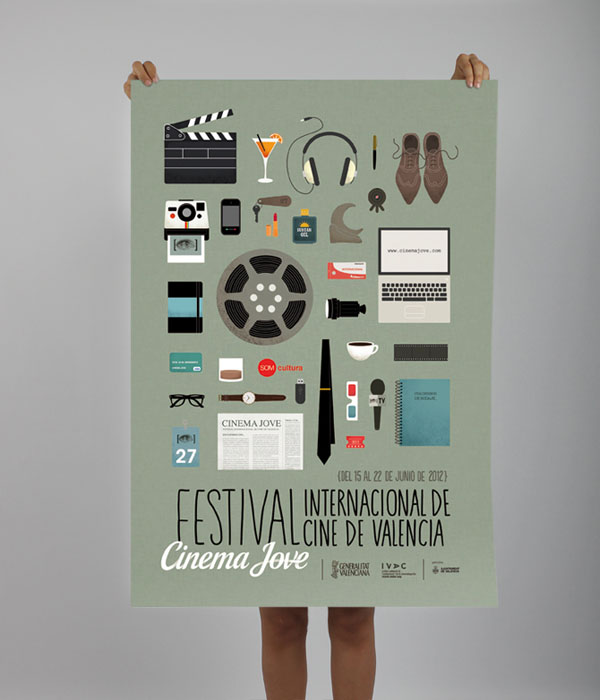 27th Cinema Jove Film Festival - Poster Design by Casmic Lab