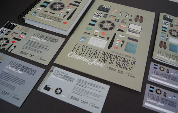 27th Cinema Jove Film Festival - Promotional Material by Casmic Lab