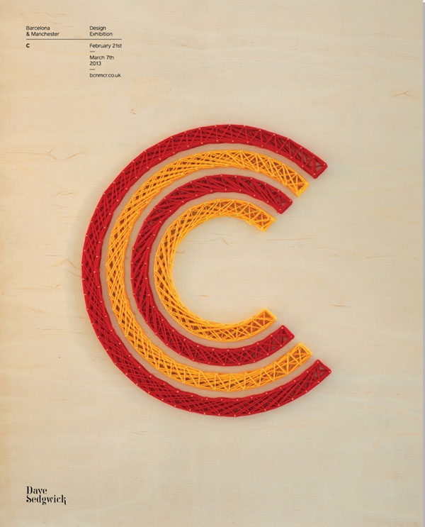BCN:MCR - Letter C by David Sedgwick