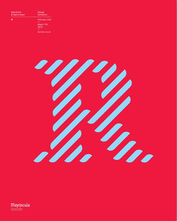 BCN:MCR - Letter R by Mayúscula Brands