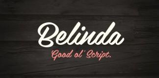 Belinda - Contemporary Script Typeface by Mika Melvas