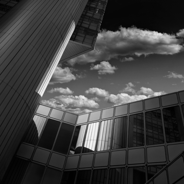 Black and White Architecture Photography by Nick Frank