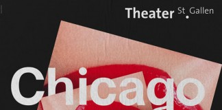 Book Cover Design by Bureau Collective for Chicago Musical at Theater St.Gallen