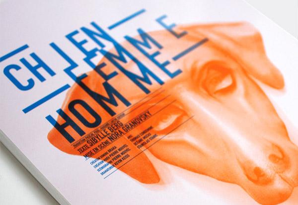 Chien Femme Homme - Design by Les produits de l'épicerie - Close up