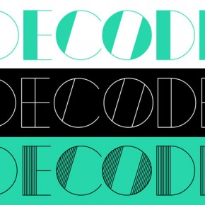 Decode - Retro Styled Font