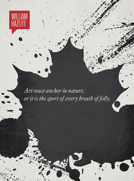 DesignDifferent Illustration - Quotation by William Hazlitt