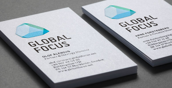 Global Focus Business Card Design by Bold
