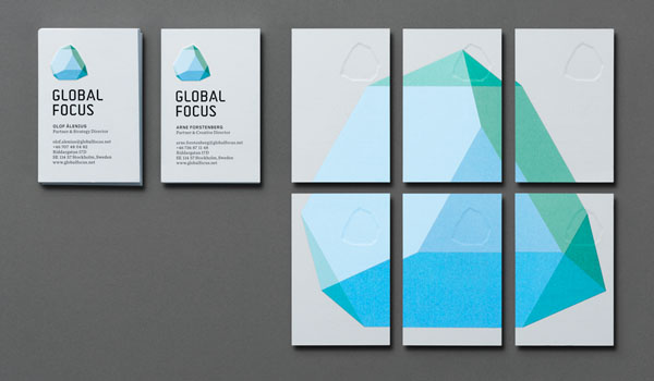 Global Focus Visual Identity by Bold