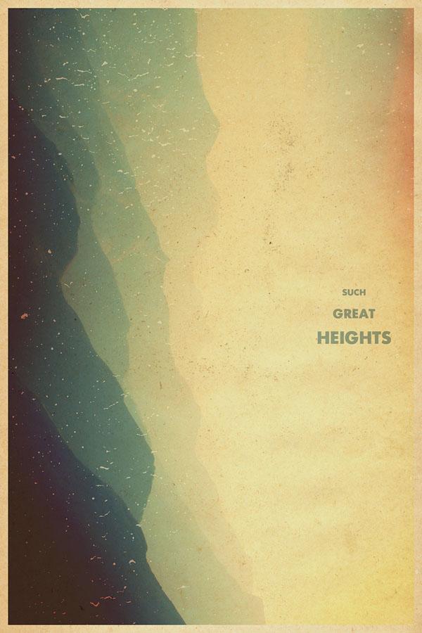 Graphic Poster Design by Garrett DeRossett