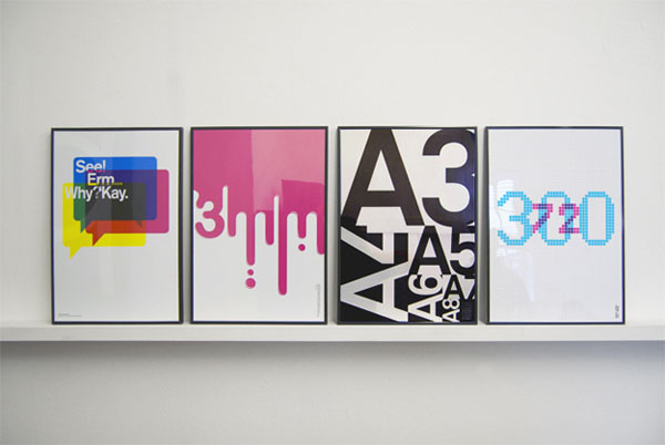 Graphic Poster Series by Purpose