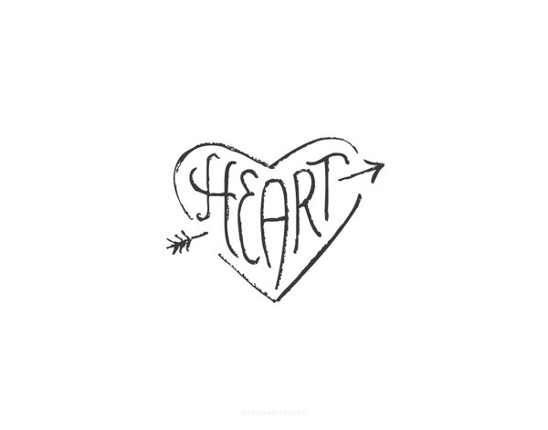 Heart Logotype by Brendan Prince