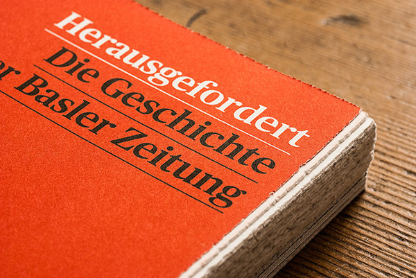 Herausgefordert. Graphic Design by Andreas Hidber