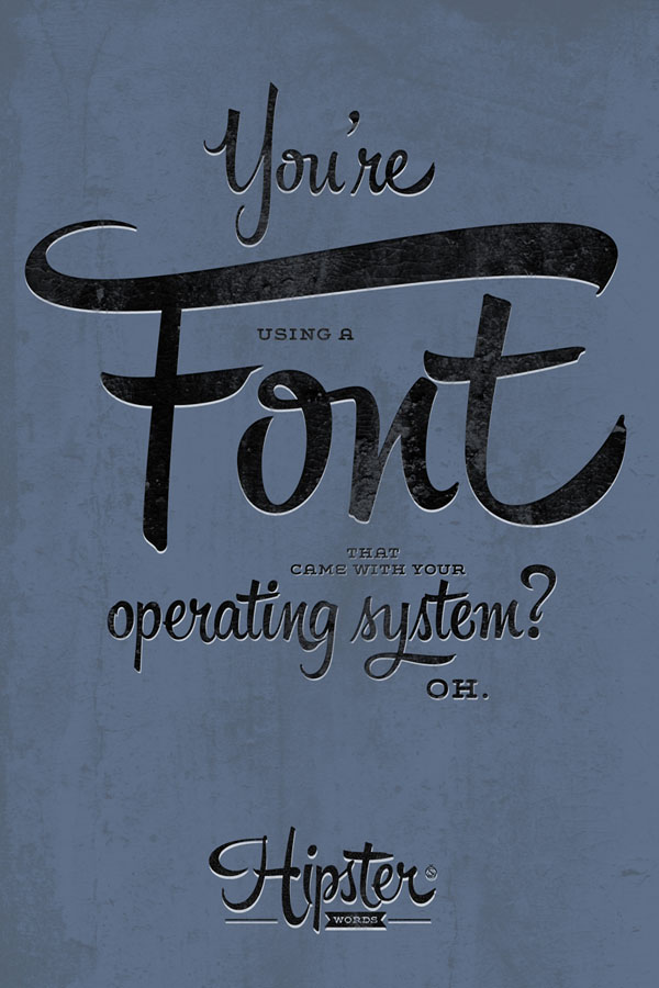 Create letterings full of stylish swashes and ligatures.
